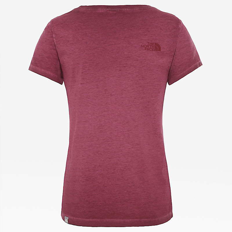 Camiseta lavada Berkeley para mujer-