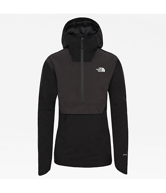 DAMEN WASSERDICHTE, VERSTAUBARE FANORAK JACKE | The North Face