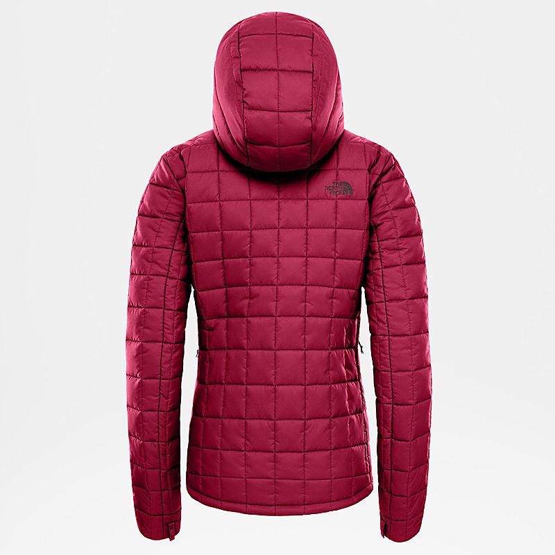 Women's Zip-in Synthetic Hoodie-