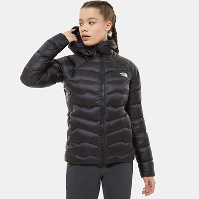 The North Face Womens Impendor Hooded Down Jacket Tnf Black/