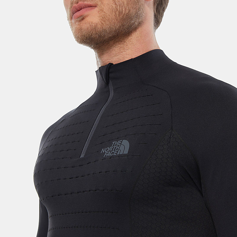 Men's Sport Long-Sleeve  Zip Top-