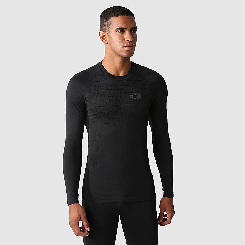 Camiseta Deportiva De Manga Larga Para Hombre-