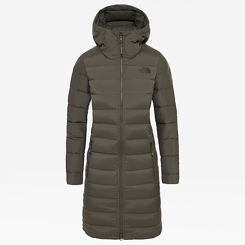 Damen Stretch Daunenparka-