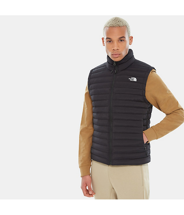 Inpakbare donzen bodywarmer met stretch voor heren | The North Face