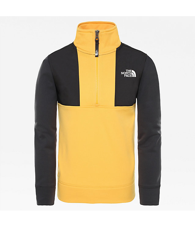 Sweat-shirt à fermeture zippée ¼ Surgent pour garçon | The North Face