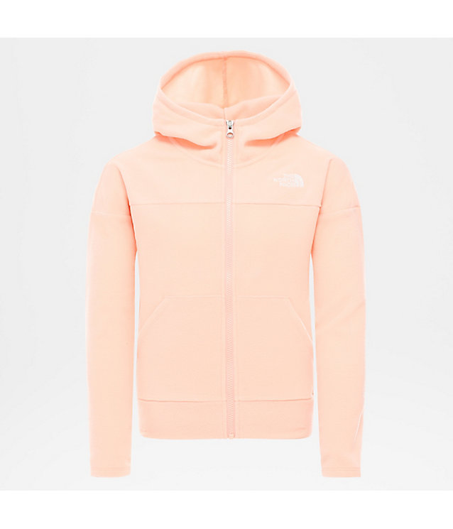 Girl's Glacier Full Zip Hooded Fleece | The North Face