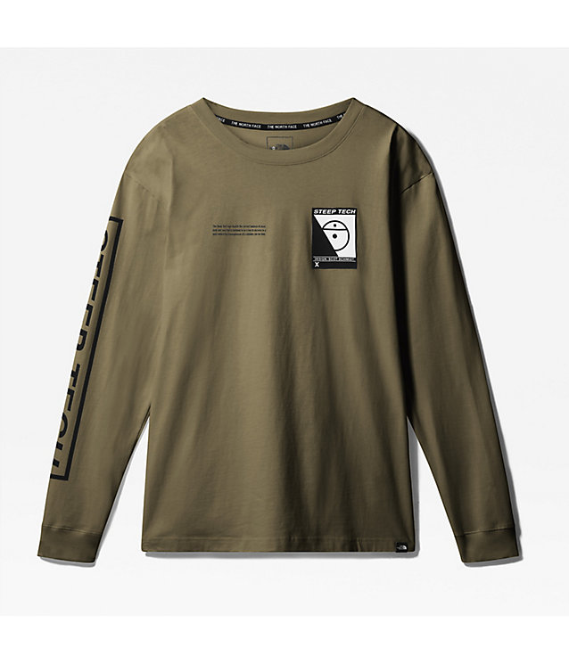 UNISEKS STEEP TECH-T-SHIRT MET LANGE MOUWEN | The North Face