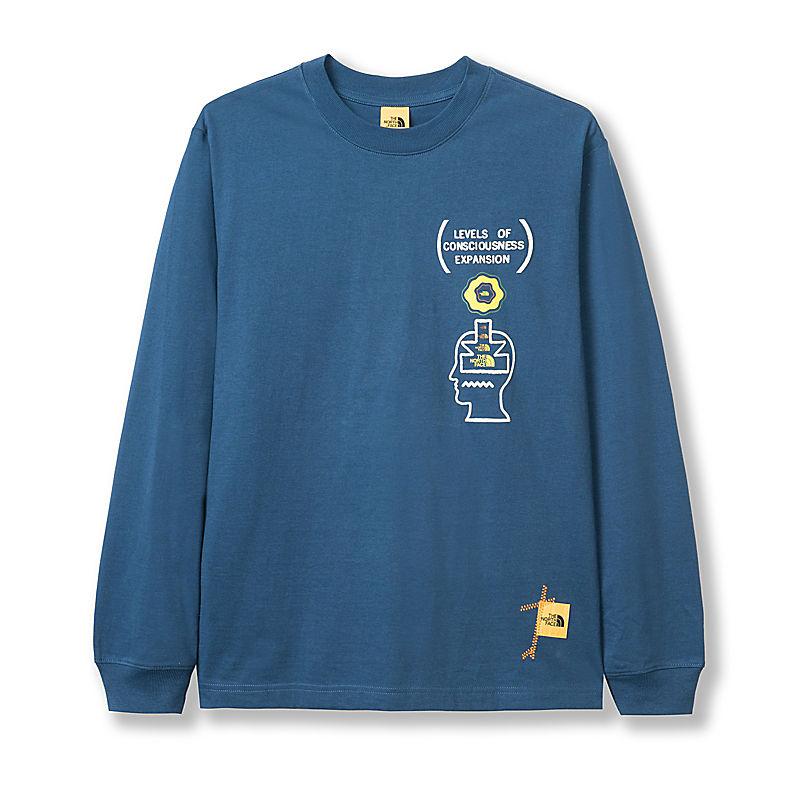 Men's Brain Dead Long-Sleeve T-Shirt-