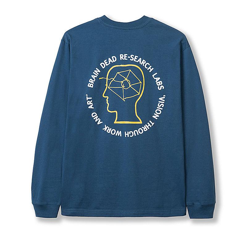 Brain Dead-T-shirt met lange mouwen voor heren-