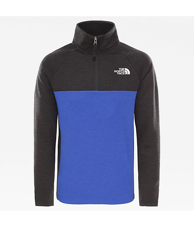 Sweat-shirt à fermeture zippée ¼ Reactor pour garçon | The North Face