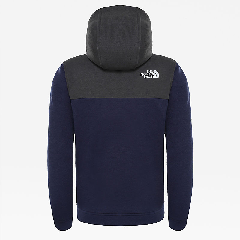 Slacker-hoodie met 1/4-rits voor jongens-