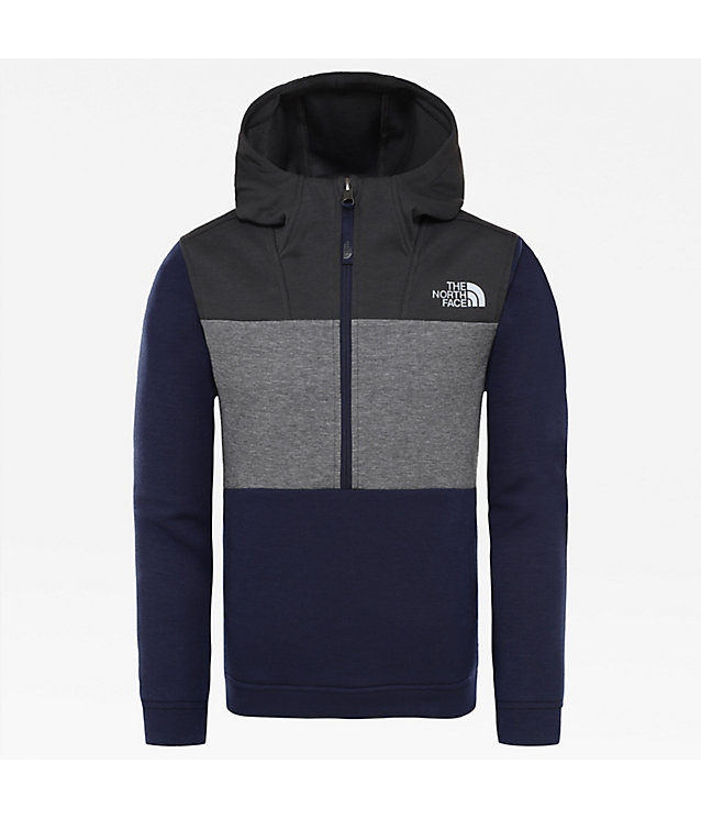 Sweat à capuche avec zip 1/4 Slacker pour garçon | The North Face