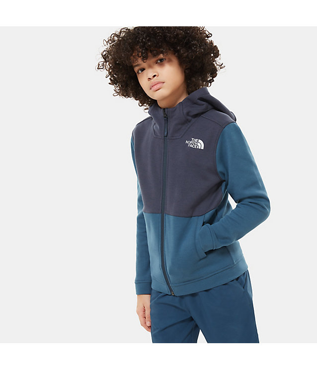 BOYS' SLACKER FULL-ZIP HOODIE | The North Face