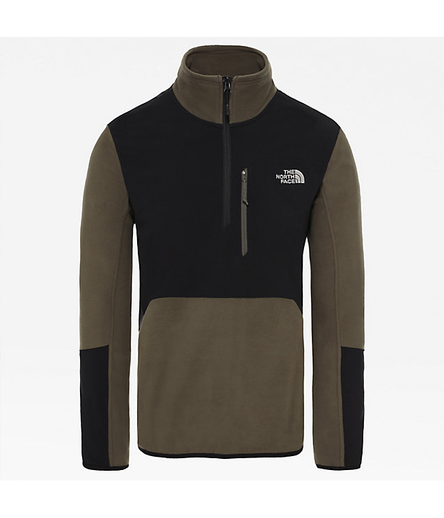 Glacier Pro-Fleecetrui Met Kwartrits Voor Heren | The North Face
