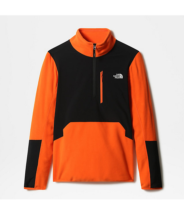 Pull-over en polaire Glacier Pro 1/4 zippé pour homme | The North Face