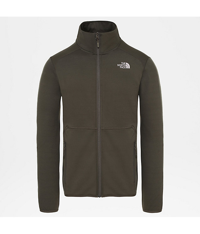 Men's Quest Full Zip Fleece | The North Face
