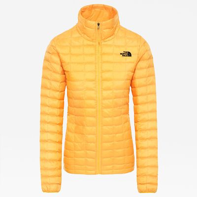 The North Face Womens Thermoball Eco Jacket Tnf Yellow Matte