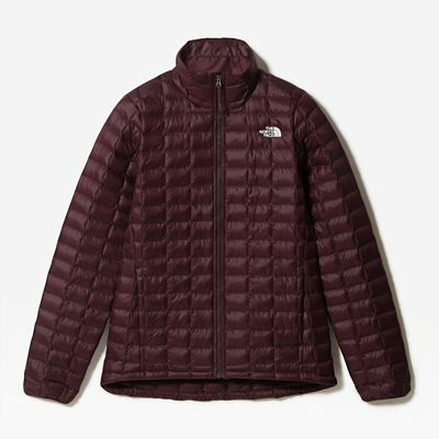 The North Face Womens Thermoball Eco Jacket Root Brown Matte
