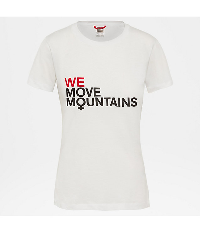 T-shirt We Move Mountains pour femme | The North Face