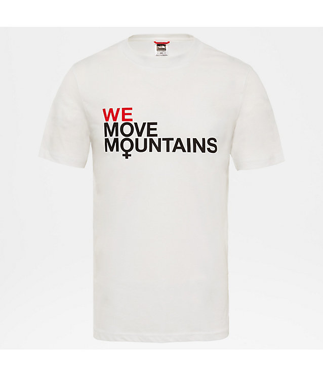 T-shirt We Move Mountains pour homme | The North Face