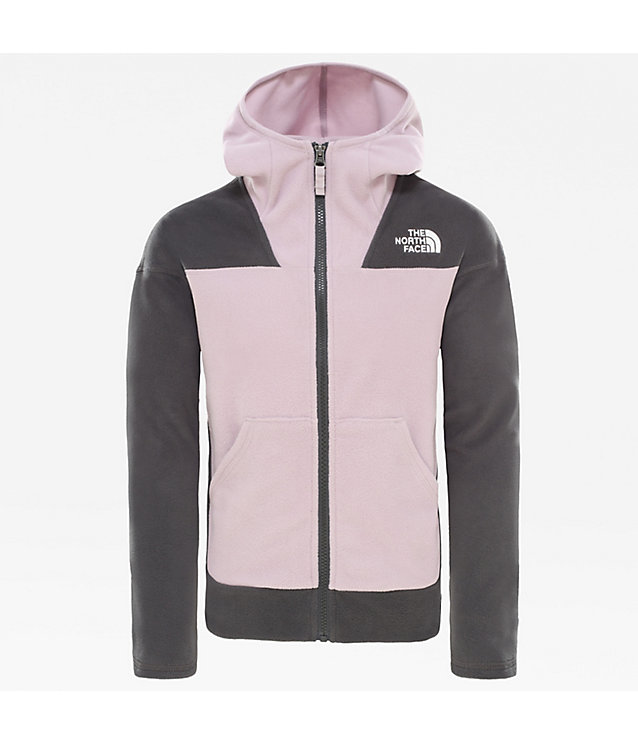 Girl's Glacier Full Zip Fleece | The North Face