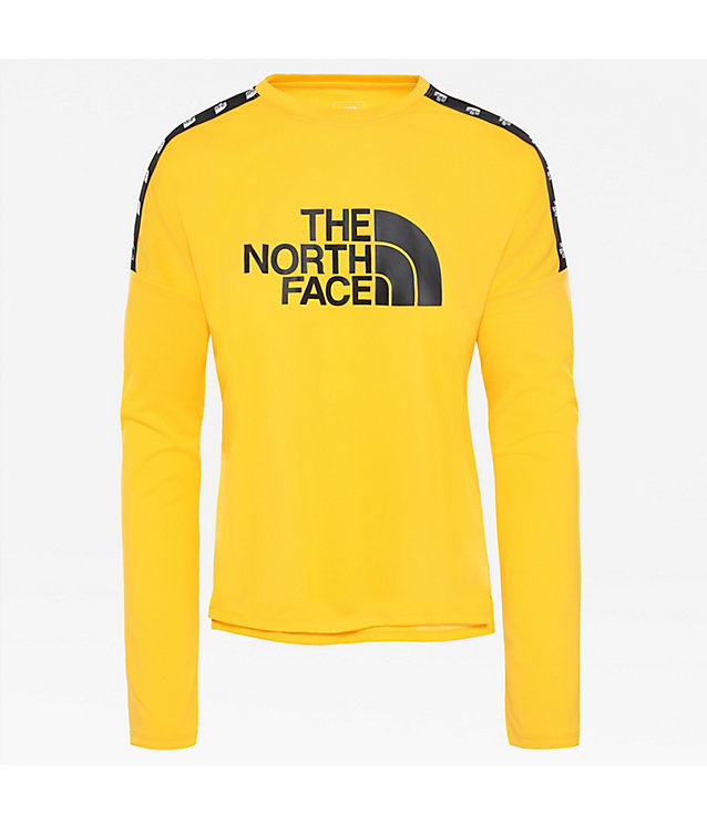 Damen kürzer geschnittenes Train N Logo Langarmshirt | The North Face