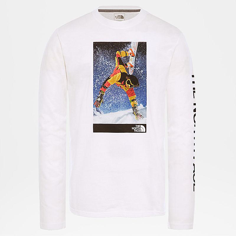 92 Retro Rage-heren-T-shirt met lange mouwen-