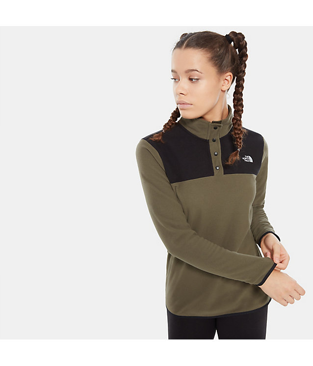 Women'S Tka Glacier Snap-Neck Fleece Pullover | The North Face