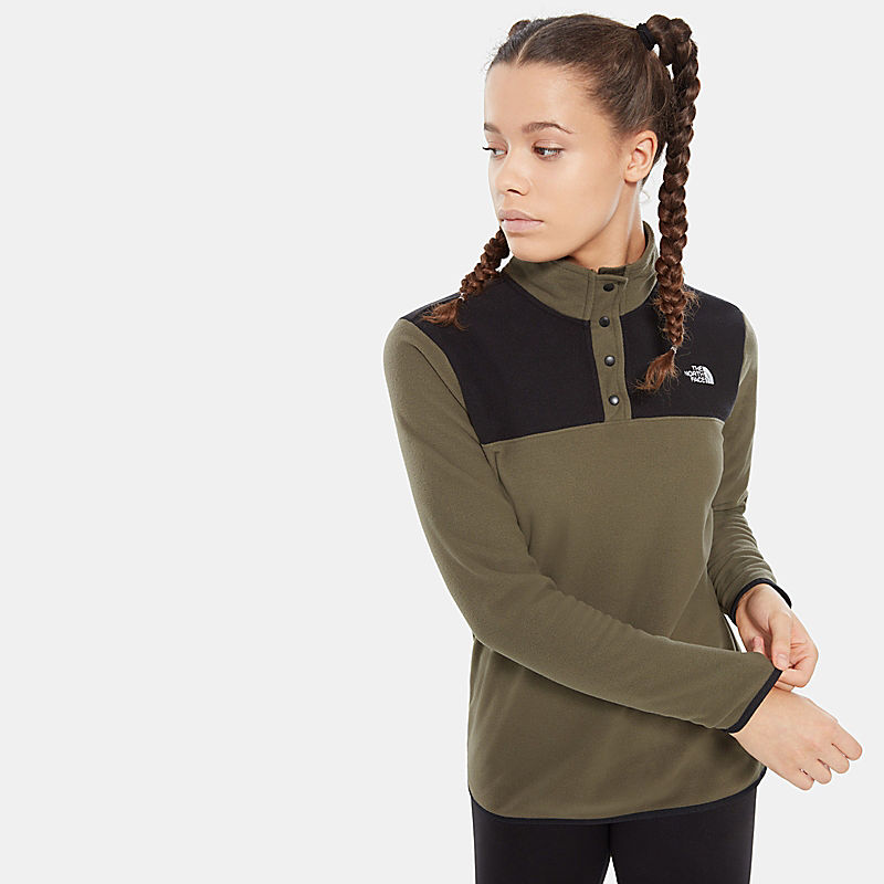 Women'S Tka Glacier Snap-Neck Fleece Pullover-