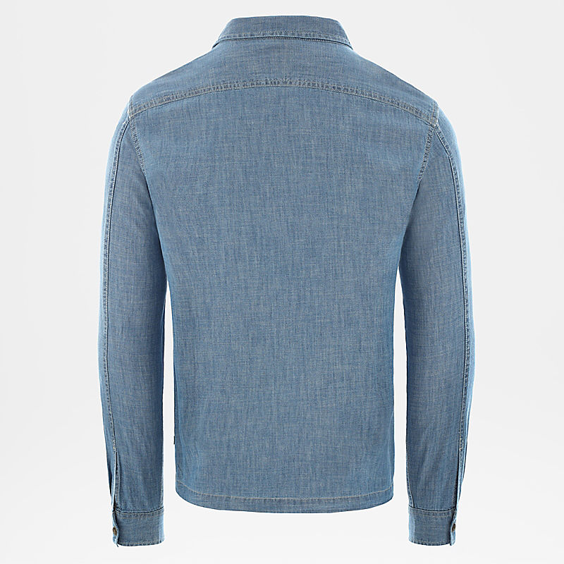 Men's Berkeley Chambray Long-Sleeve Shirt-