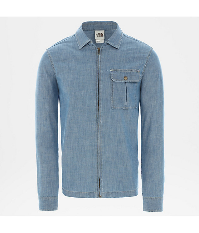 Camicia Uomo Berkley In Chambray A Maniche Lunghe | The North Face
