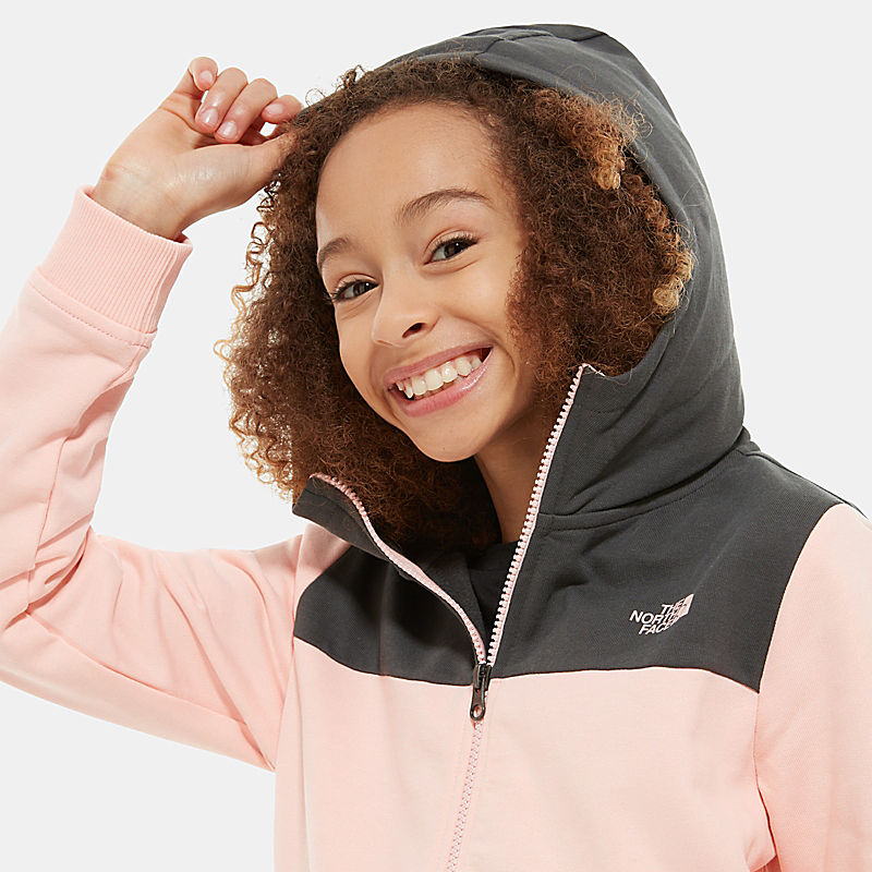Girls' Full-Zip Hoodie-