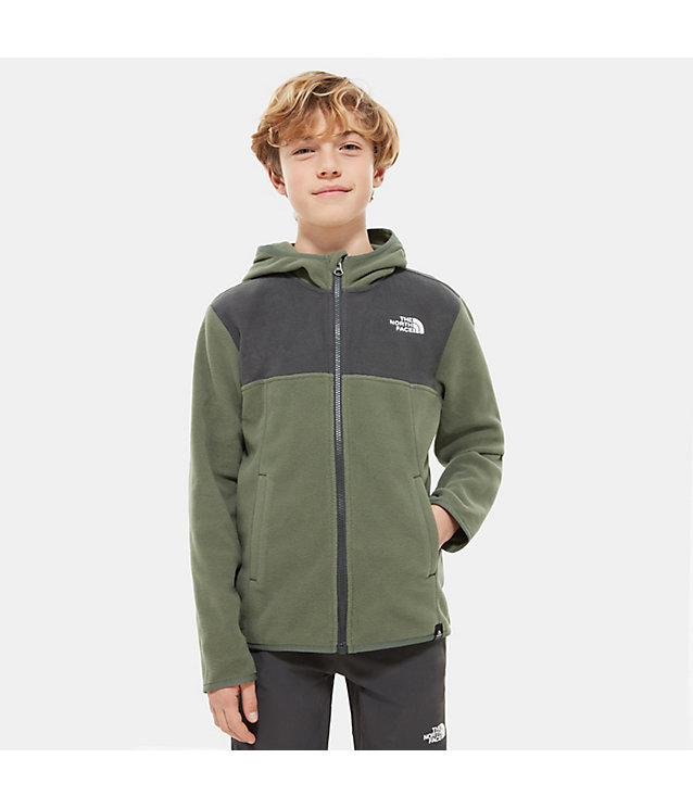 Boy's Glacier Full Zip Hooded Fleece | The North Face