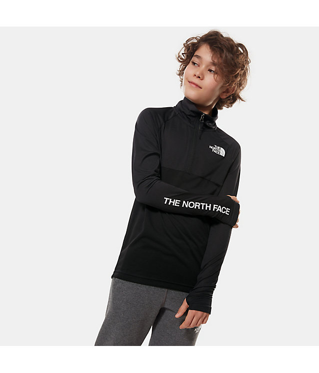 PULLOVER BAMBINO REACTOR CON CERNIERA A 1/4 | The North Face