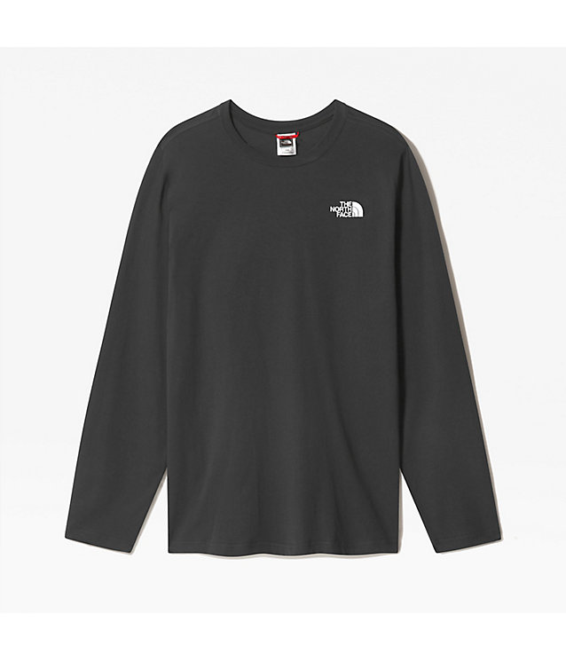 Men's Red Box Long-Sleeve T-Shirt | The North Face