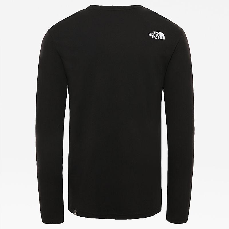 T-Shirt Uomo A Maniche Lunghe Con Stampa Grafica-