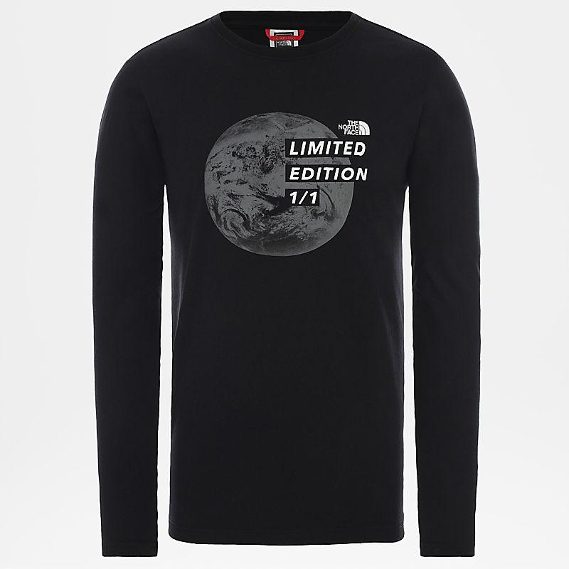 Graphic-T-Shirt Met Lange Mouwen Voor Heren-