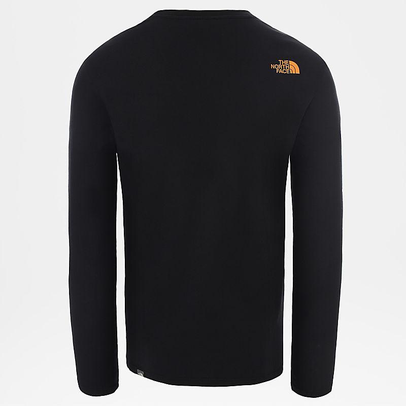 Men's Graphic Long-Sleeve T-Shirt-