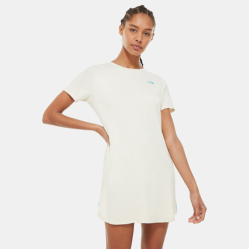 Women's Simple Dome T-Shirt Dress-