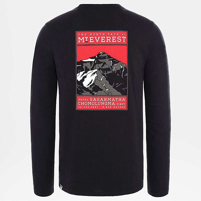 Men's North Faces Long-Sleeve T-Shirt-