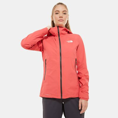 The North Face Womens Impendor Futurelight Jacket Cayenne Re