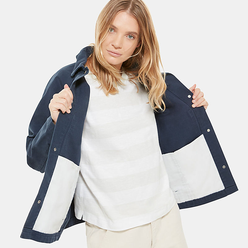 Women's Oversized Utility Jacket-