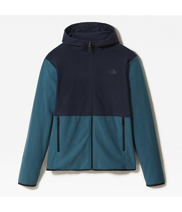 Men's Tka Glacier Hooded Fleece Jacket | The North Face