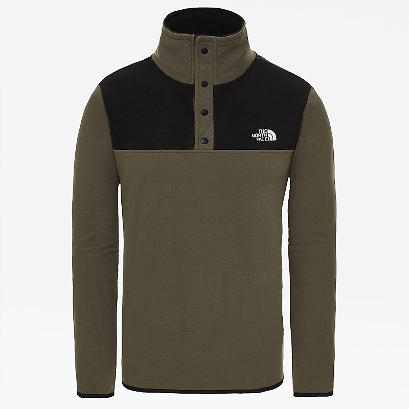 Men's Tka Glacier Snap-Neck Fleece Pullover-