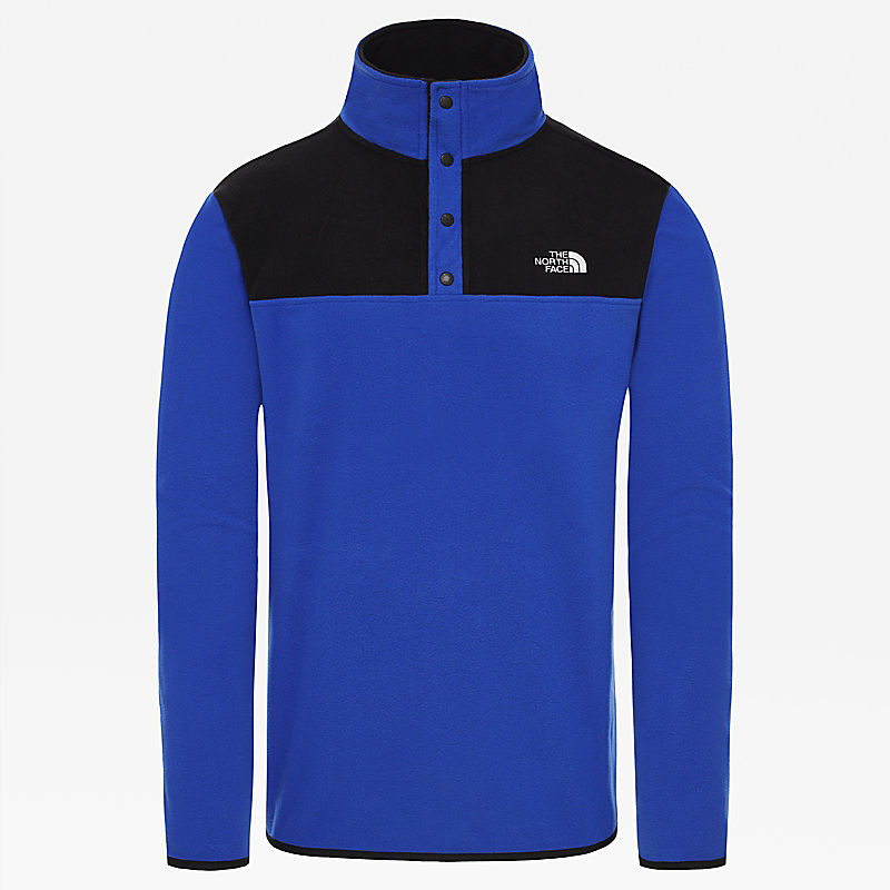 Men's Tka Glacier Snap-Neck Fleece-