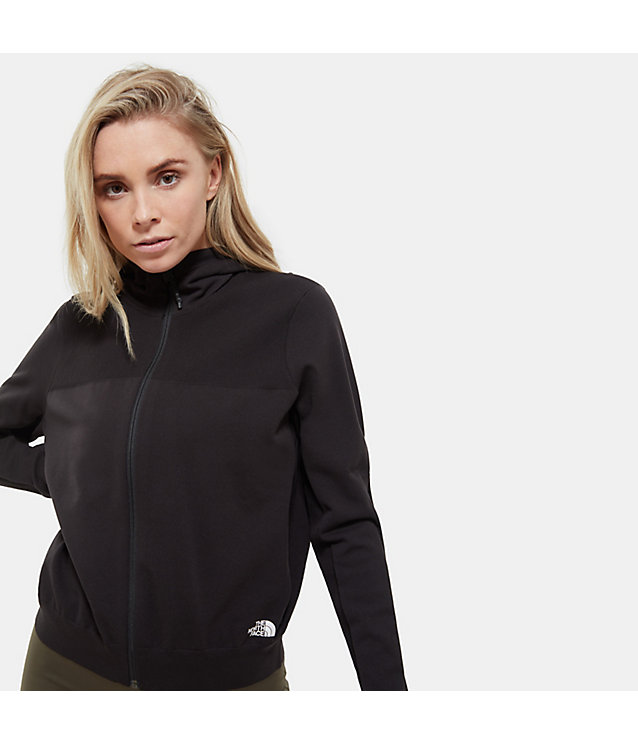 Active-Trail E-Knit-Hoody Met Doorlopende Rits Voor Dames | The North Face