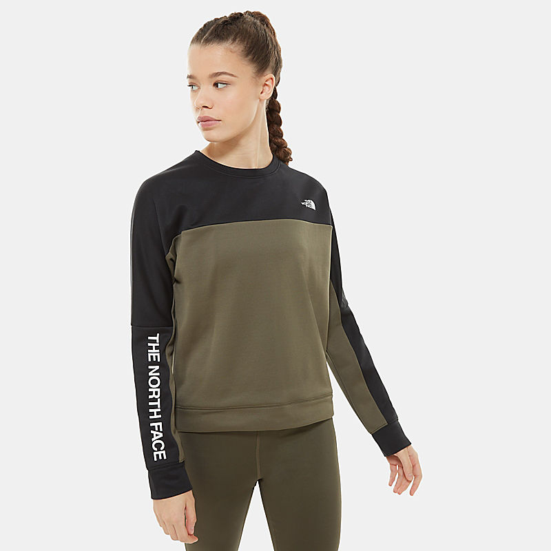 Women's Train N Logo Crop Pullover-