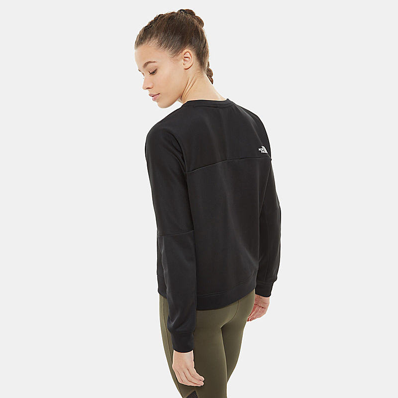 Women's Train N Logo Crop Pullover-