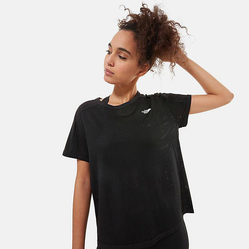 T-Shirt À Manches Courtes Train N Logo Pour Femme-