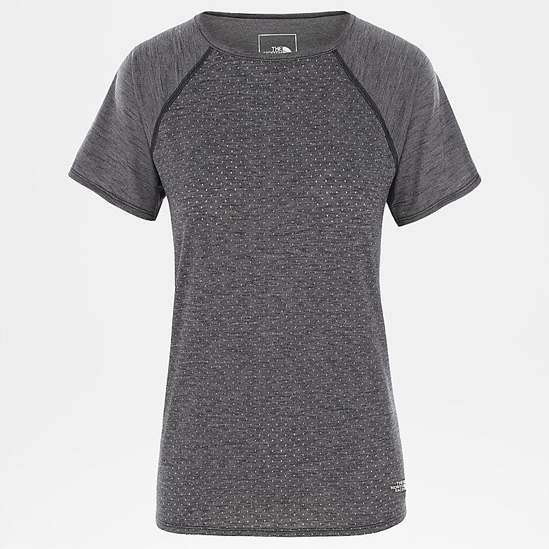 Damen Active Trail Jacquard-T-Shirt-